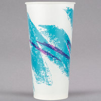 Solo RS22N-00055 Jazz 22 oz. Wax Treated Paper Cold Cup - 1000/Case