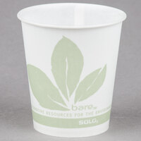 Bare by Solo R53BB-JD110 Eco-Forward 5 oz. Wax Treated Printed Paper Cold Cup - 3000/Case