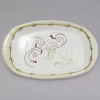 Dart Solo PL86-J8001 Symphony 8 inch x 6 inch Medium Weight Paper Platter - 1000/Case