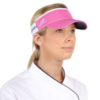 Hot Pink Headsweats Customizable CoolMax Chef Visor