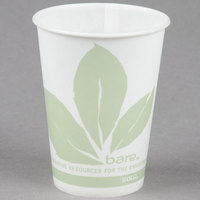 Bare by Solo R9BB-JD110 Eco-Forward 9 oz. Wax Treated Printed Paper Cold Cup - 100/Pack