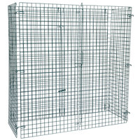 Regency NSF Green Wire Security Cage - 24 inch x 60 inch x 61 inch