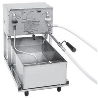 Pitco RP18 75 lb. Portable Fryer Oil Filter Machine with Reversible Pump - 120V