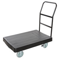 Lavex Janitorial 36 inch x 24 inch Heavy Duty Platform Truck with Ergonomic Handle - 1200 lb. Capacity