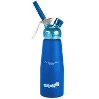 Whip-It SV PRO-06R Blue .5 Liter Aluminum Rubber Coated Cream Whipper