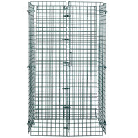 Regency NSF Green Wire Security Cage - 18 inch x 36 inch x 61 inch
