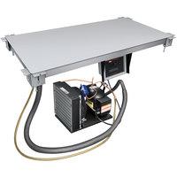 Hatco CSU-36-I Aluminum Built-In Undermount Cold Shelf - 36 inch x 19 1/2 inch