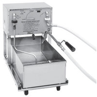 Pitco RP14 55 lb. Portable Fryer Oil Filter Machine with Reversible Pump - 120V