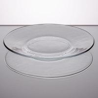 Libbey 5335 Moderno 6 1/4 inch Glass Salad / Dessert Plate - 36/Case
