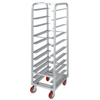 Channel AXD-UTR-11 11 Pan Heavy-Duty Aluminum Steam Table / Bun Pan Rack - Assembled