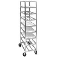 Channel AXDUPR8 Heavy-Duty Universal Aluminum Platter Rack - 8 Shelf