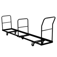 Flash Furniture NG-DOLLY-309-50-GG Vertical Folding Chair Truck - Holds 50 Chairs