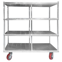 Channel FTDR-4 Heavy-Duty Aluminum Tray Drying Rack - 63 Tray Capacity