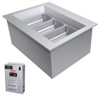 Hatco CWBX-1 One Pan Slanted Refrigerated Drop-In Cold Food Well without Condenser - 120V