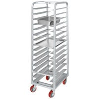 Channel AXD-UTR-15 15 Pan Heavy-Duty Aluminum Steam Table / Bun Pan Rack - Assembled