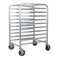 Channel AXD-UTR-5 5 Pan Heavy-Duty Aluminum Steam Table / Bun Pan Rack - Assembled
