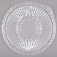 Genpak FP932 Smart-Set Pro Clear Plastic Round Microwaveable Lid - 300/Case