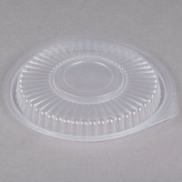 Genpak FP916 Smart-Set Pro Clear Plastic Round Microwaveable Lid - 300/Case