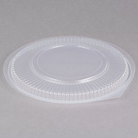 Genpak FP948 Smart-Set Pro Clear Plastic Round Microwaveable Lid - 300/Case
