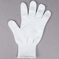 San Jamar SG10-L White Cut Resistant Glove with Dyneema - Large