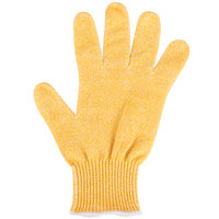 San Jamar SG10-Y-M Yellow Cut Resistant Glove with Dyneema - Medium