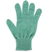 San Jamar SG10-GN-L Green Cut Resistant Glove with Dyneema - Large