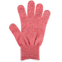 San Jamar SG10-RD-S Red Cut Resistant Glove with Dyneema - Small