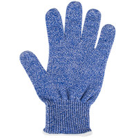San Jamar SG10-BL-M Blue Cut Resistant Glove with Dyneema - Medium