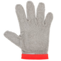 San Jamar MGA515M Stainless Steel Mesh Cut Resistant Glove - Medium
