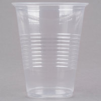 Choice 7 oz. Translucent Thin Wall Plastic Cold Cup - 100/Pack