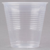 Choice 5 oz. Translucent Thin Wall Plastic Cold Cup - 100/Pack