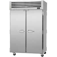 Turbo Air PRO-50R-PT 52 inch Premiere Pro Series Solid Door Pass-Through Refrigerator