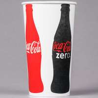 Dart Solo TPH445-105820 Coke® 44 oz. Poly Paper Cold Cup - 500/Case