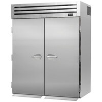 Turbo Air PRO-50F-RI 67 inch Premiere Specification Series Two Section Solid Door Roll-In Freezer - 81 Cu. Ft.