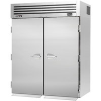 Turbo Air PRO-50F-RI 67 inch Premiere Pro Series Two Section Solid Door Roll-In Freezer - 81 Cu. Ft.