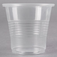 Choice 3.5 oz. Translucent Thin Wall Plastic Cold Cup - 100/Pack