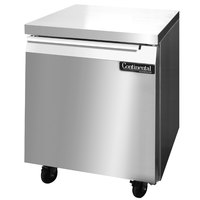 Continental Refrigerator SW27 27 inch Undercounter Refrigerator - 7.4 Cu. Ft.
