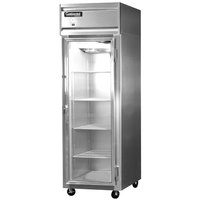 Continental Refrigerator 1F-GD 26 inch One Section Glass Door Reach-In Freezer - 21 Cu. Ft.