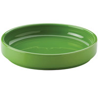 Hall China 32722324 Shamrock 38 oz. Colorations Scoop Plate - 6 / Case