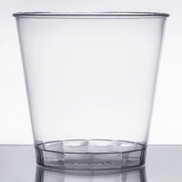 Fineline Savvi Serve 4015 1.5 oz. Clear Hard Plastic Shot Glass - 50/Pack