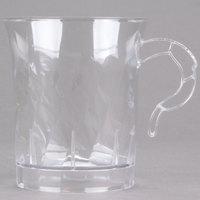 WNA Comet CWM8192C Classicware 8 oz. Clear Plastic Coffee Cup - 8 / Pack