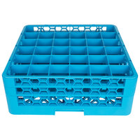 Carlisle RG36-214 OptiClean 36 Compartment Glass Rack with 2 Extenders