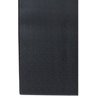 Cactus Mat 1025R-C6P Tredlite 6' Wide Black Pebbled Vinyl Anti-Fatigue Mat - 3/8 inch Thick