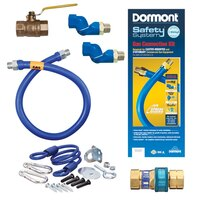 48 inch Dormont 1675KIT2S Deluxe SwivelMAX Gas Connector Kit - 3/4 inch Diameter
