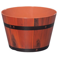 GET ML-271-BE 2.6 Gallon Melamine Gourmet Barrel - 3/Pack