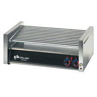 Star 50C Grill-Max 50 Hot Dog Roller Grill with Chrome Rollers - Slanted