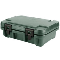 Cambro UPC140192 Camcarrier Ultra Pan Carrier® Granite Green Top Loading 4 inch Deep Insulated Food Pan Carrier
