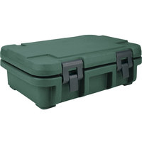 Cambro UPC140192 Granite Green Camcarrier Ultra Pan Carrier - Top Load for 12 inch x 20 inch Food Pan