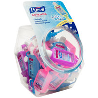 Purell® 3900-25-BWL Advanced 1 oz. (25 ct.) Gel Instant Hand Sanitizer with Display Bowl