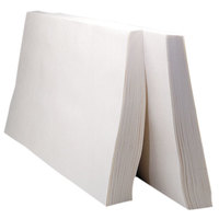 Pitco PP10612 Heavy-Duty Flat Style Filter Paper - 45/Box
